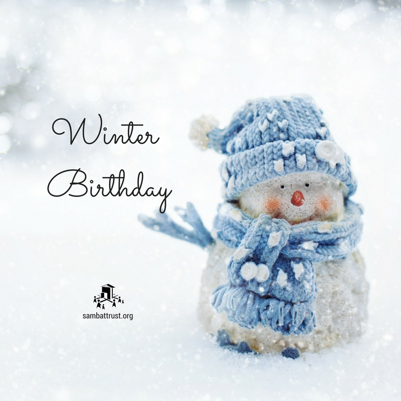 Winter Birthday