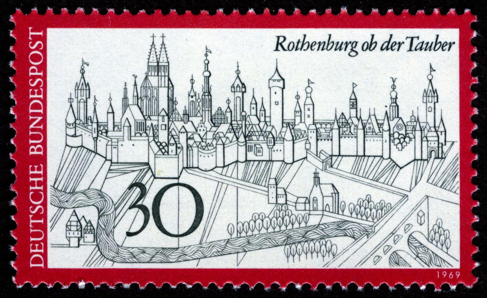 Rothenburg ob der Tauber, 1969