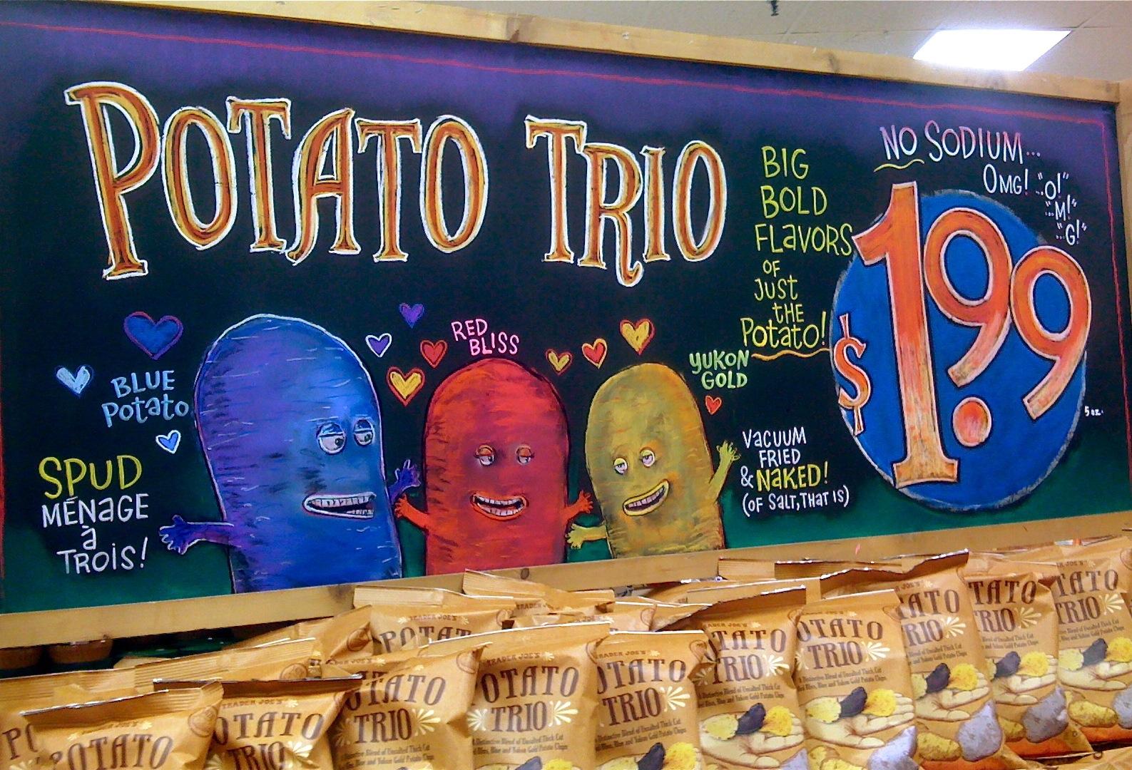 Potato Trio by Billy