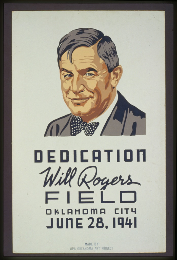 Dedication: Will Rogers Field, Oklahoma City, June 28, 1941