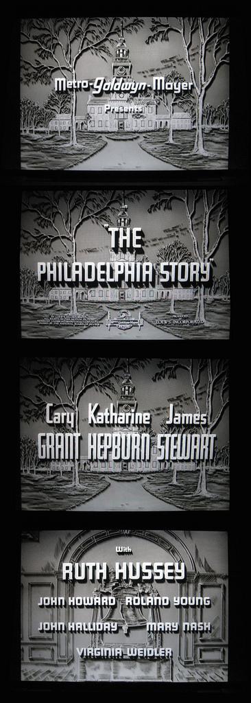 The Philadelphia Story titles