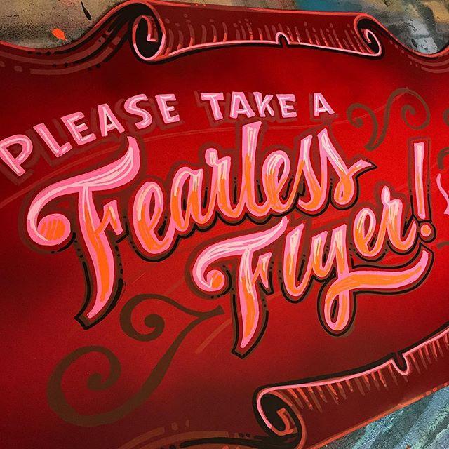 Fearless Flyer by Paula Nelson