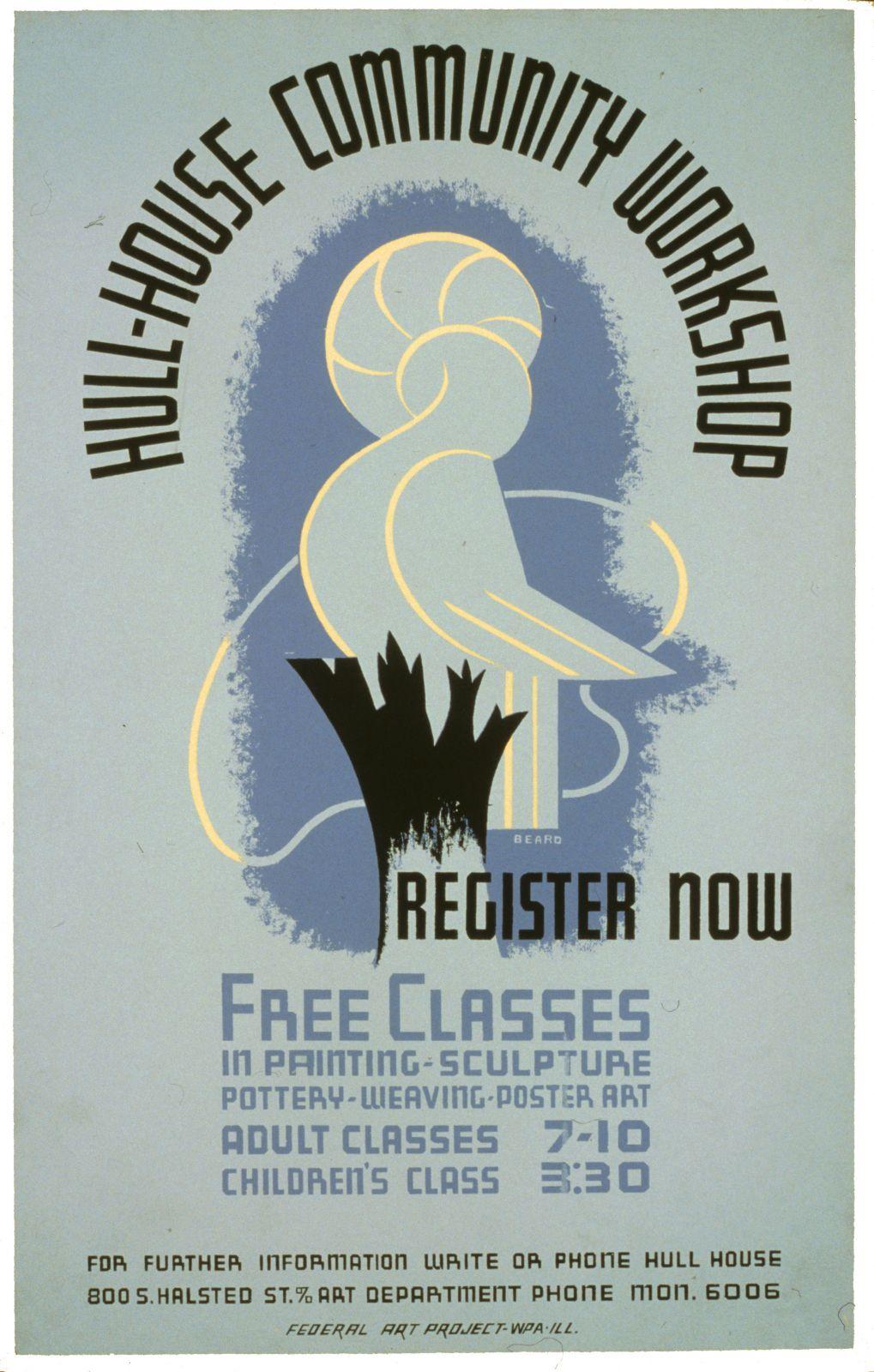 Hull-House community workshop