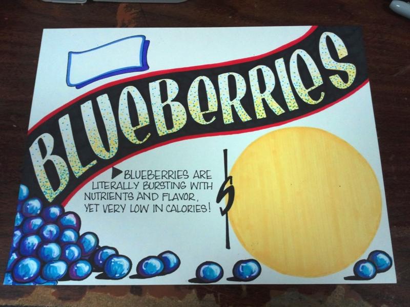 Blueberries by Yelena Keyzman