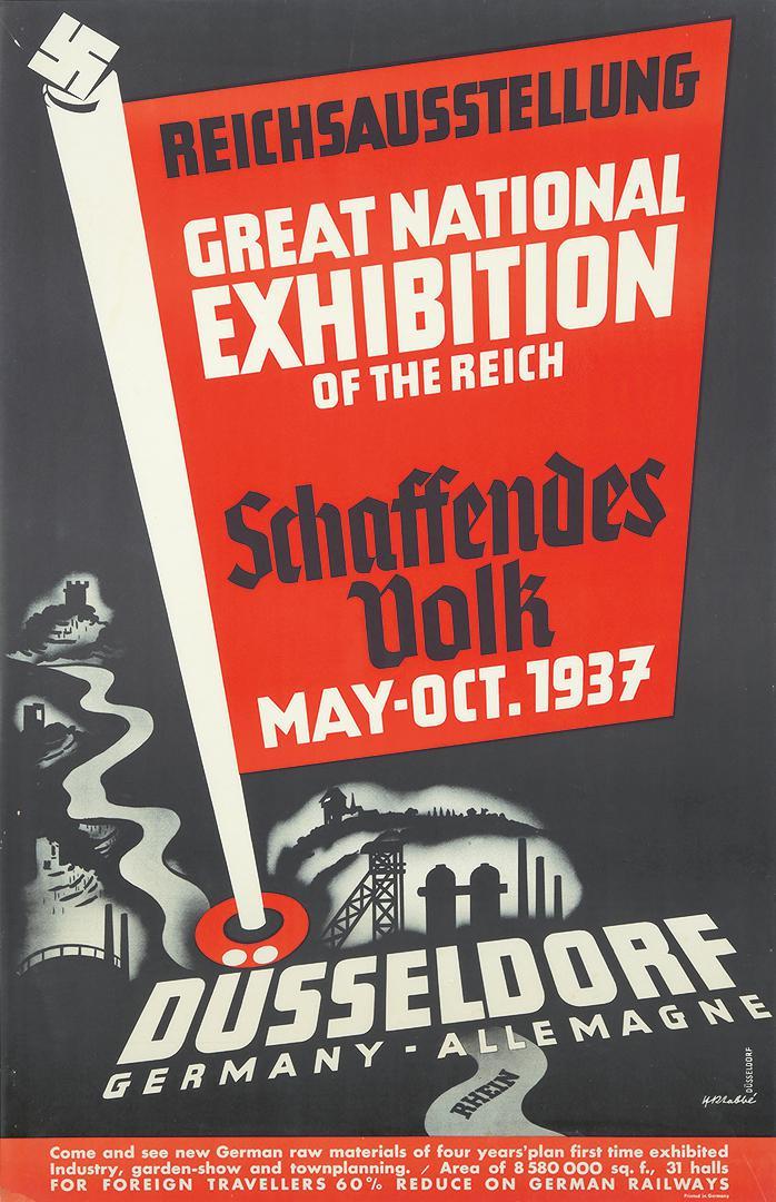 Schaffendes Volk Exhibition. 1937. | Rennert's Gallery