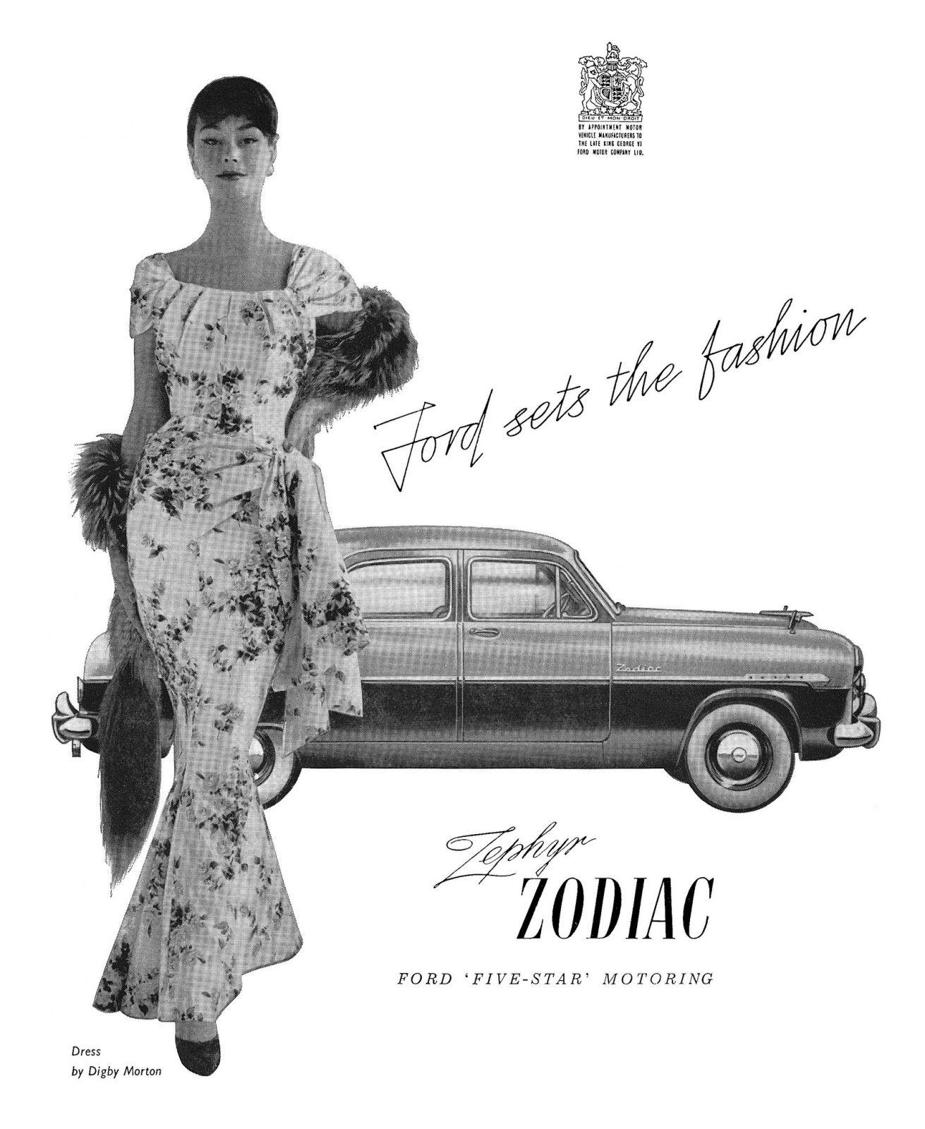 1955 Ford Zodiac ad