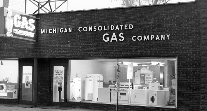 Michigan Consolidated Gas Company, 1940s