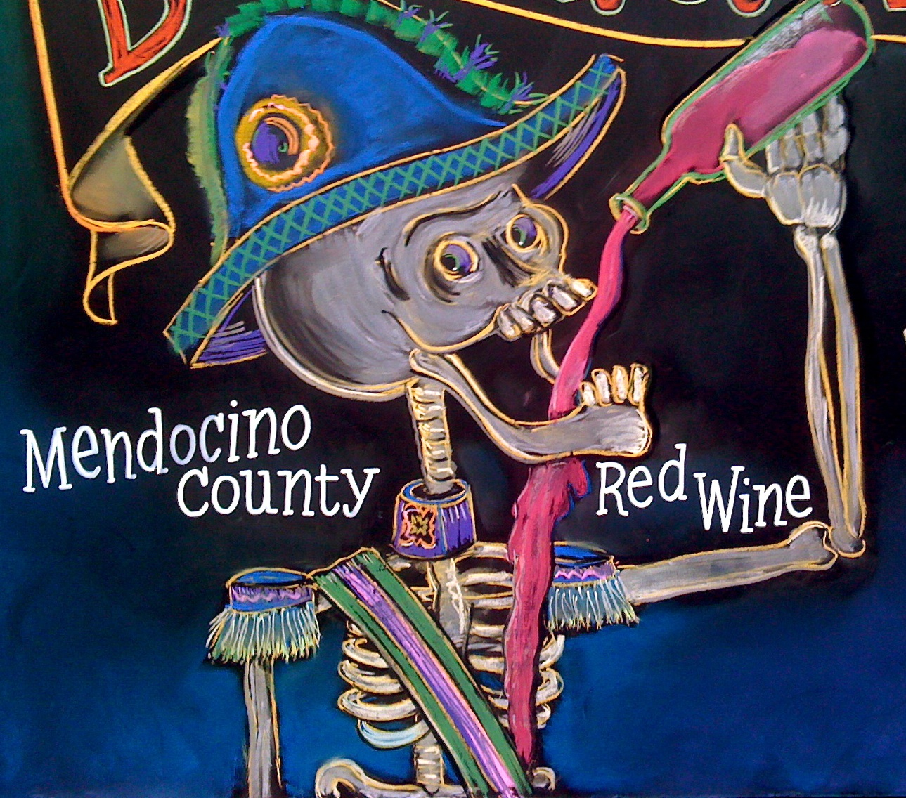 Mendocino County Red Wine by Billy