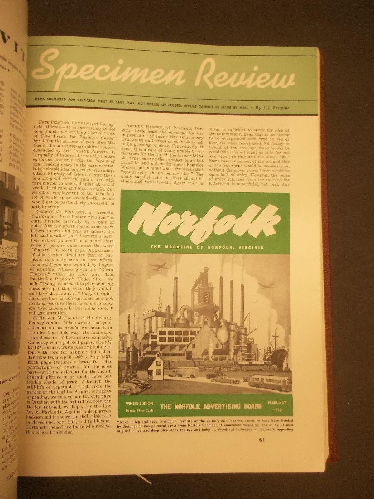 Norfolk magazine, Feb. 1950