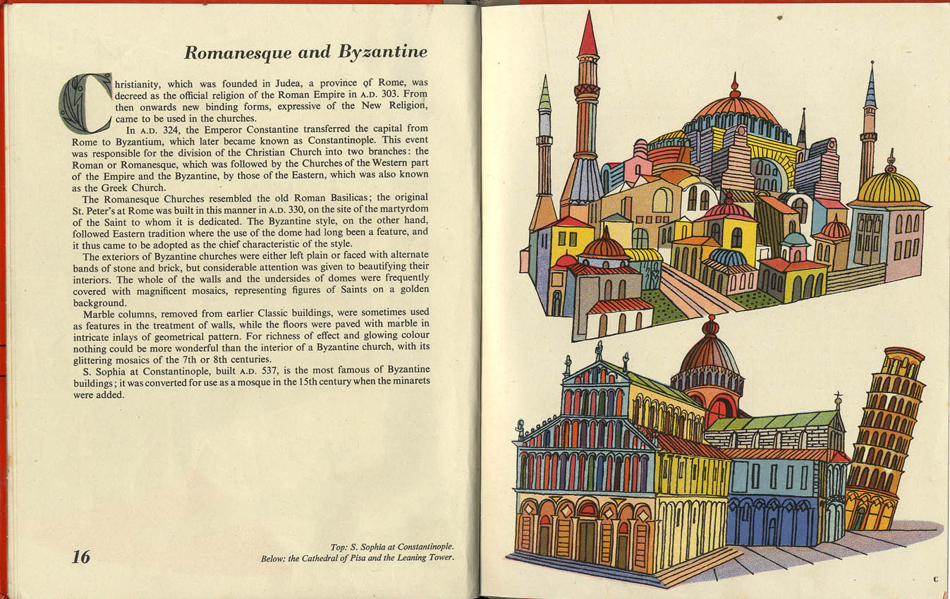 Balbus: a Picture book of Building, illustrated by Hans Tisdall