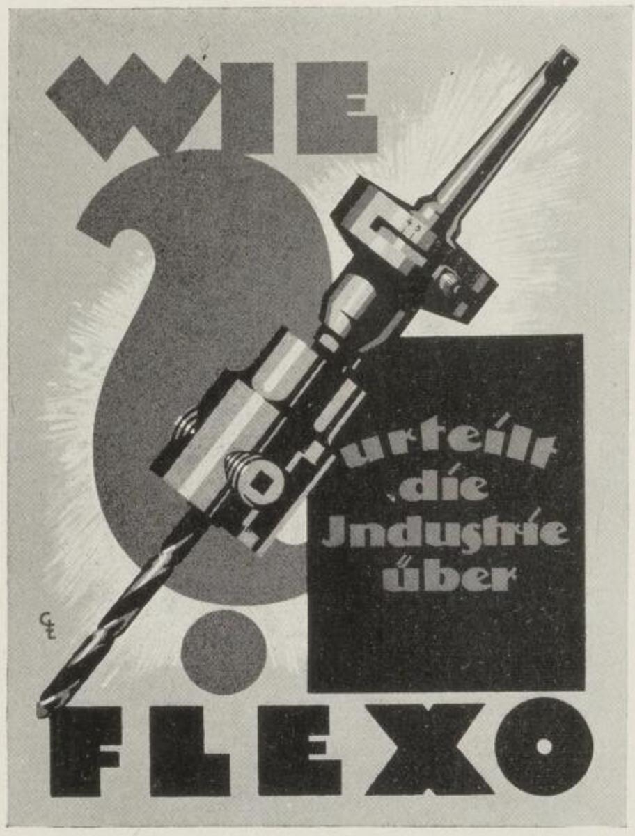 poster ad by Gotthardt & Ehrlich