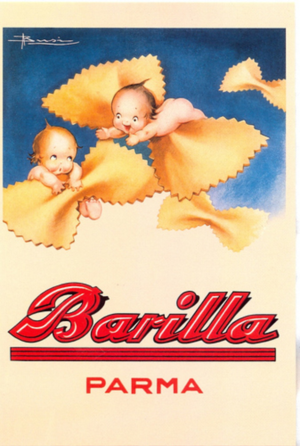 Barilla | Vintage Italian Pasta | Ganzo | Dishing up visionary Italian style - without the cheese