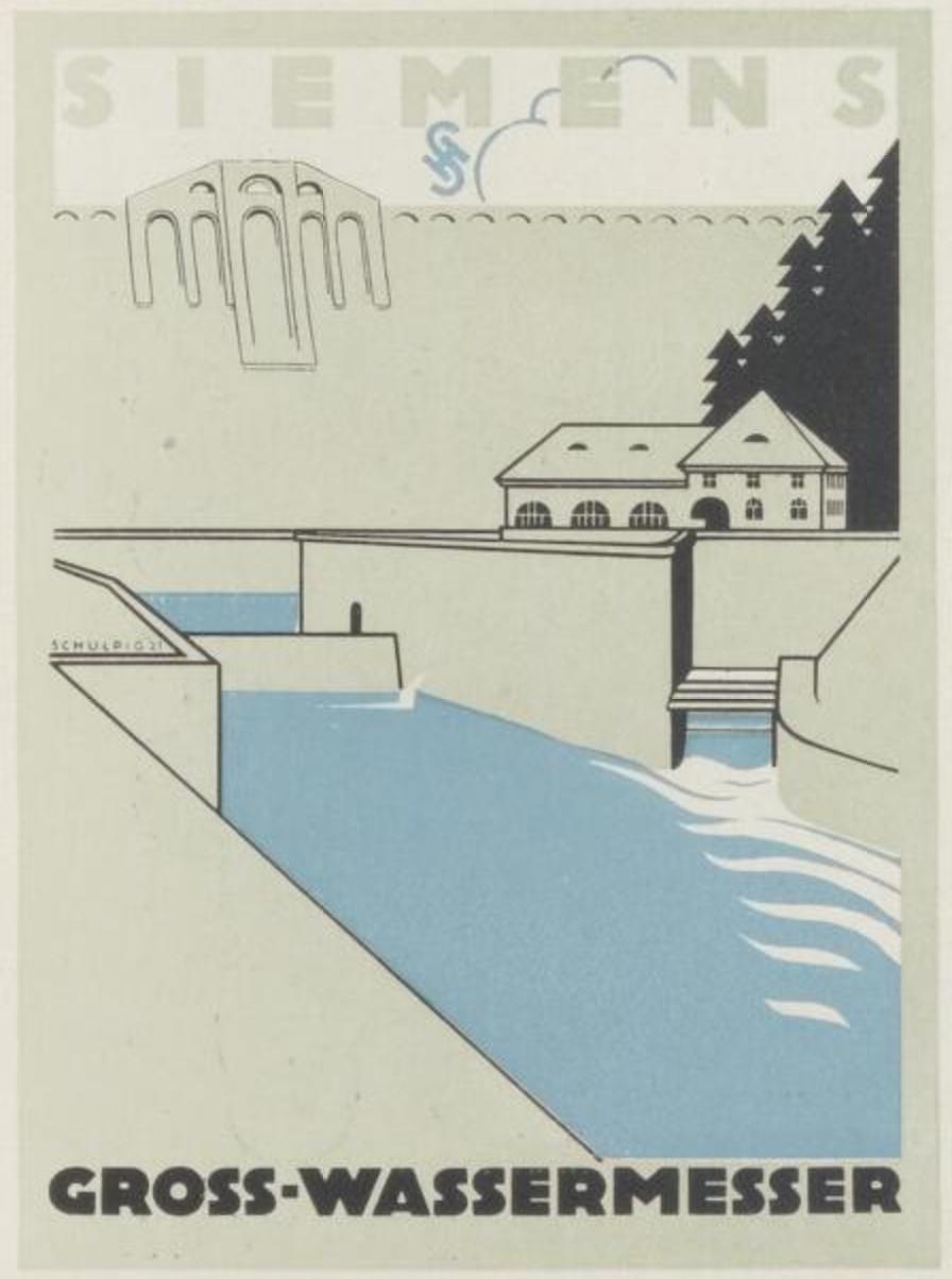 Siemens ad prospectus by Karl Schulpig