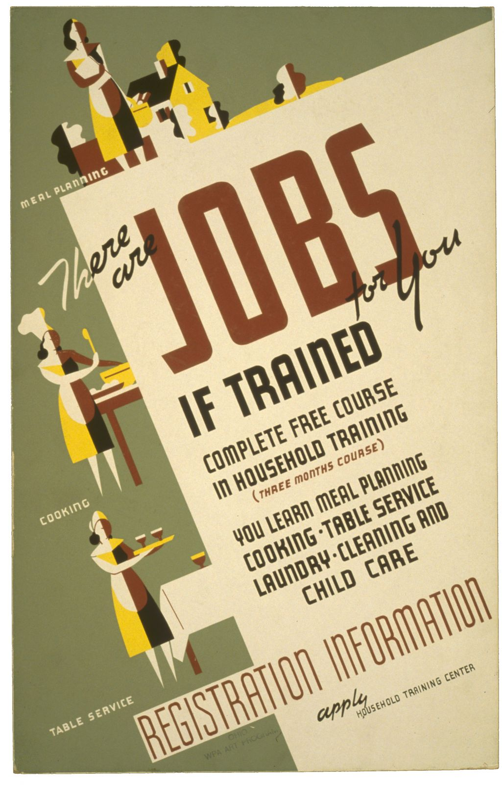 There are jobs for you, if trained Complete free course in household training