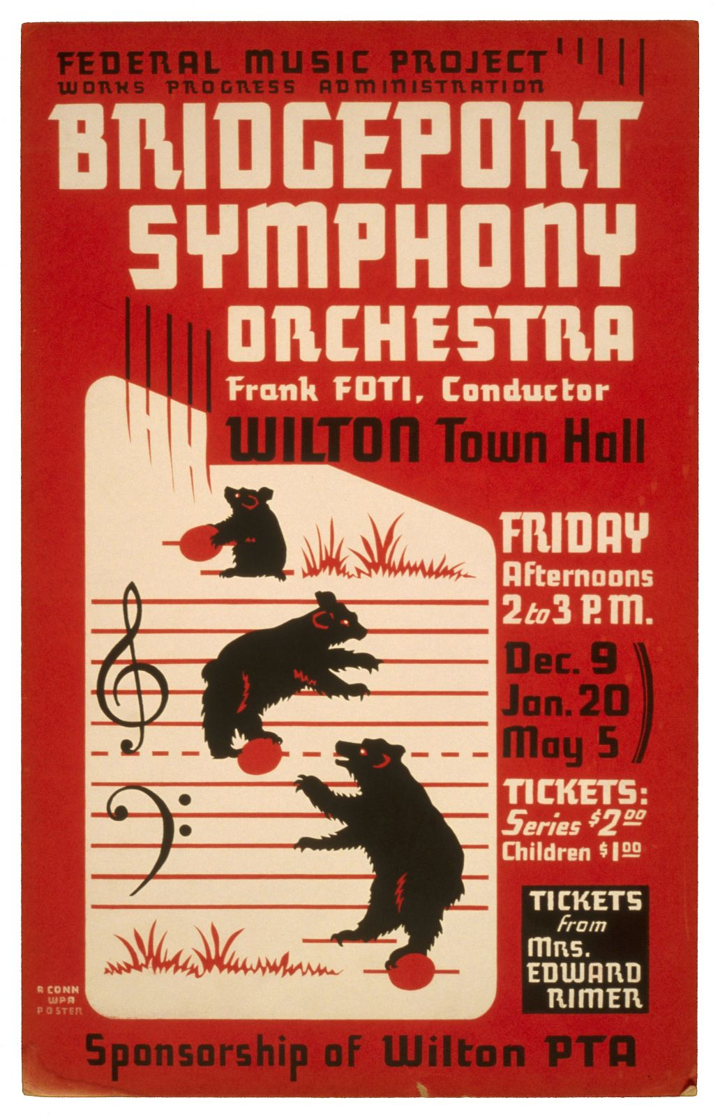 Bridgeport Symphony Orchestra - Frank Foti, conductor