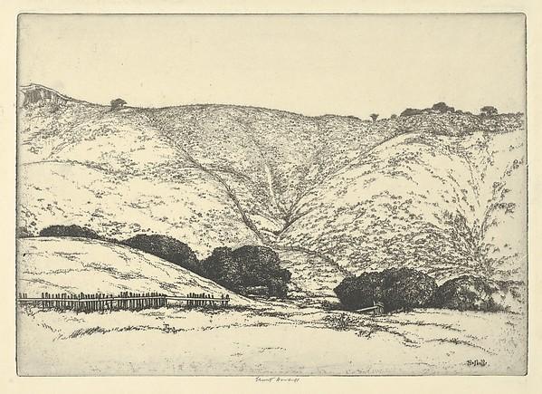 Ernest Haskell   Redwood Fence   The Met