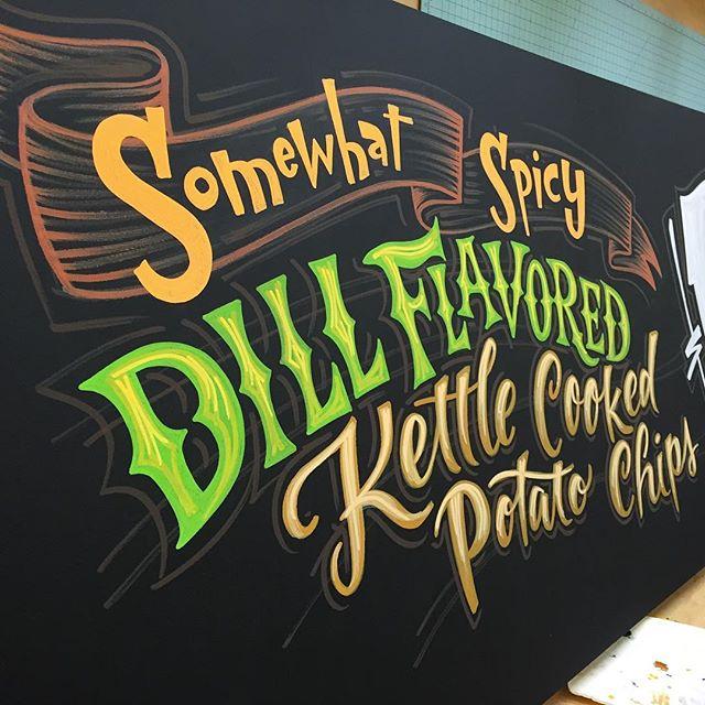 Dill Potato Chips by Paula Nelson