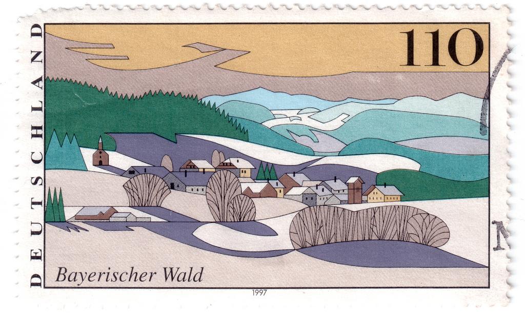 Bayerischer Wald, 1997