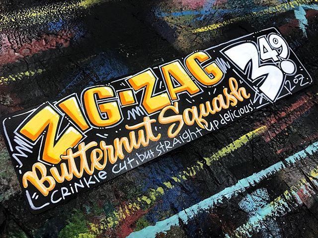 zig-zag butternut squash by ksssigns