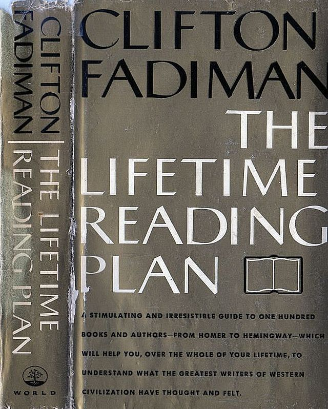 The Lifetime Reading Plan by Clifton Fadiman, 960