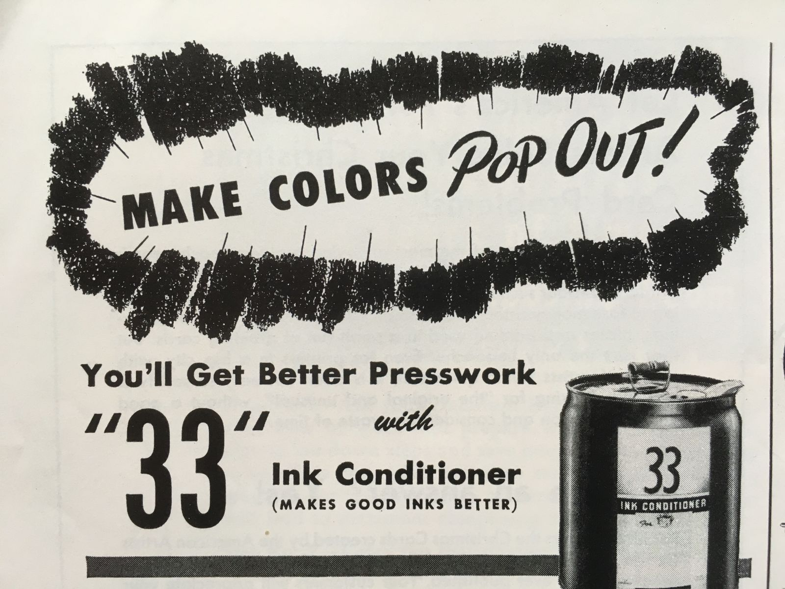Central Compounding Co. ad: Make Colors Pop Out! | Flickr