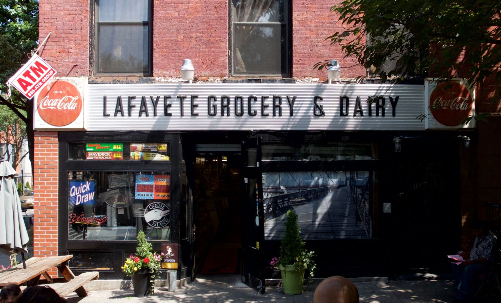 Lafayet(t)e Grocery & Dairy   Prefab Coca-Cola sign   Flickr