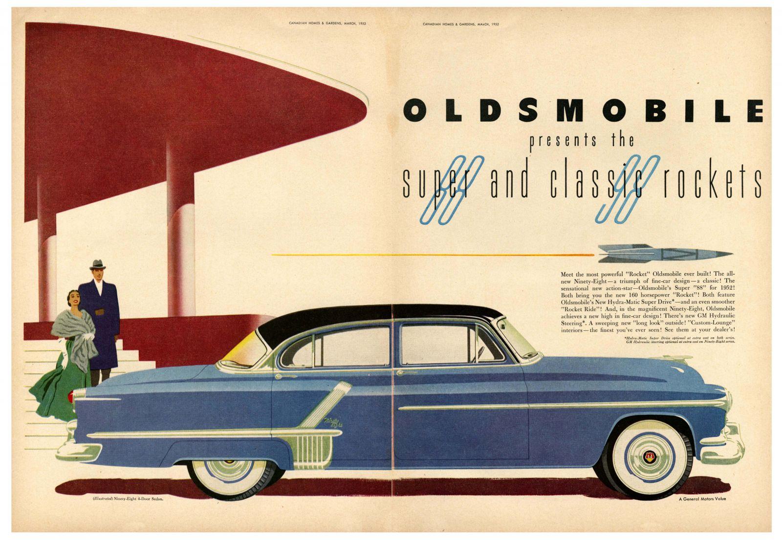 Super & Classic Rockets, Oldsmobile, 1952