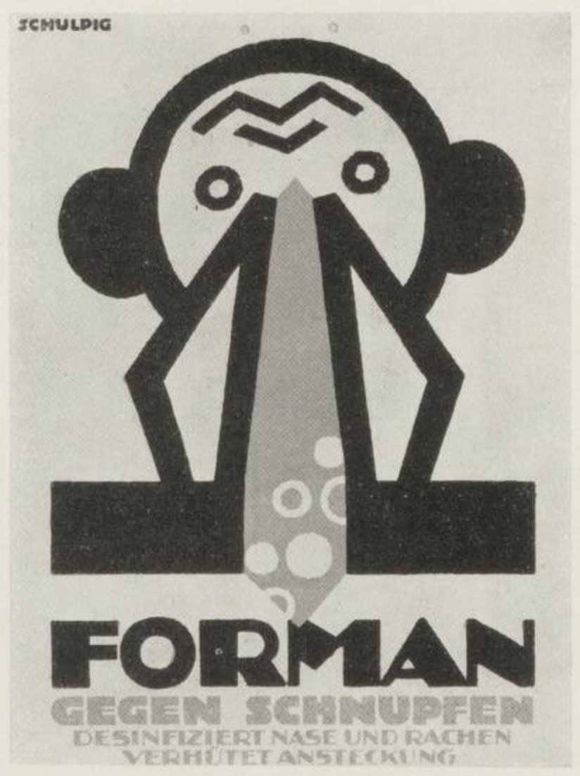 Forman ad prospectus  by Karl Schulpig