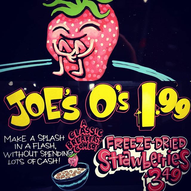 Joe's O's and Strawberries by Bonnie