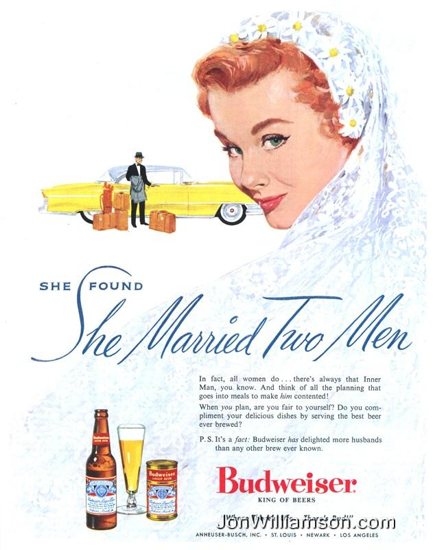 Budweiser ad: She Married Two Men