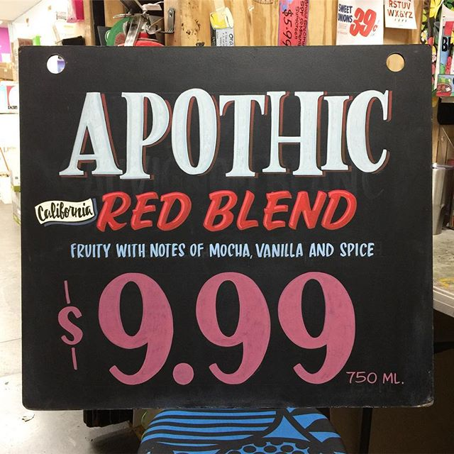 Apothic Red Blend by ginchygear