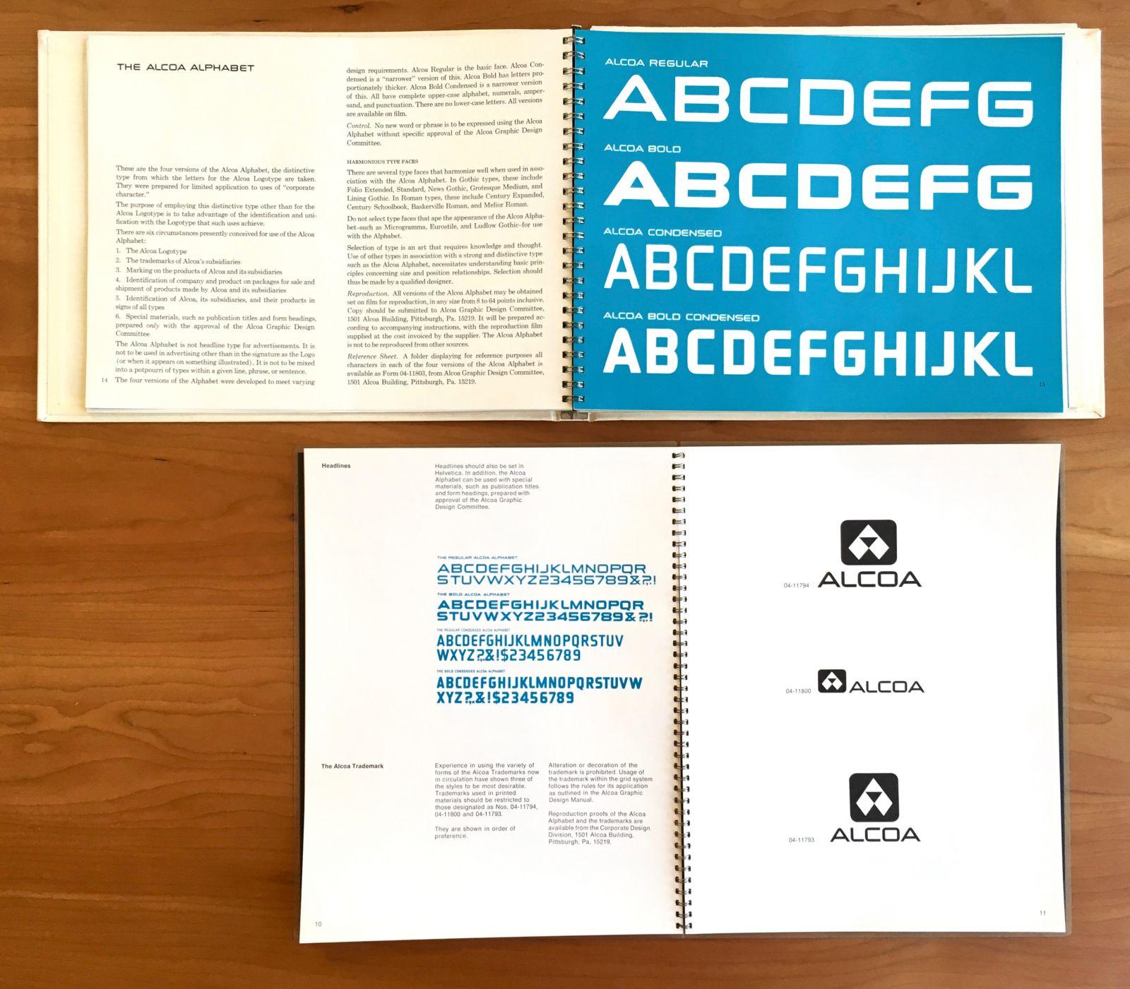 The Alcoa Alphabet