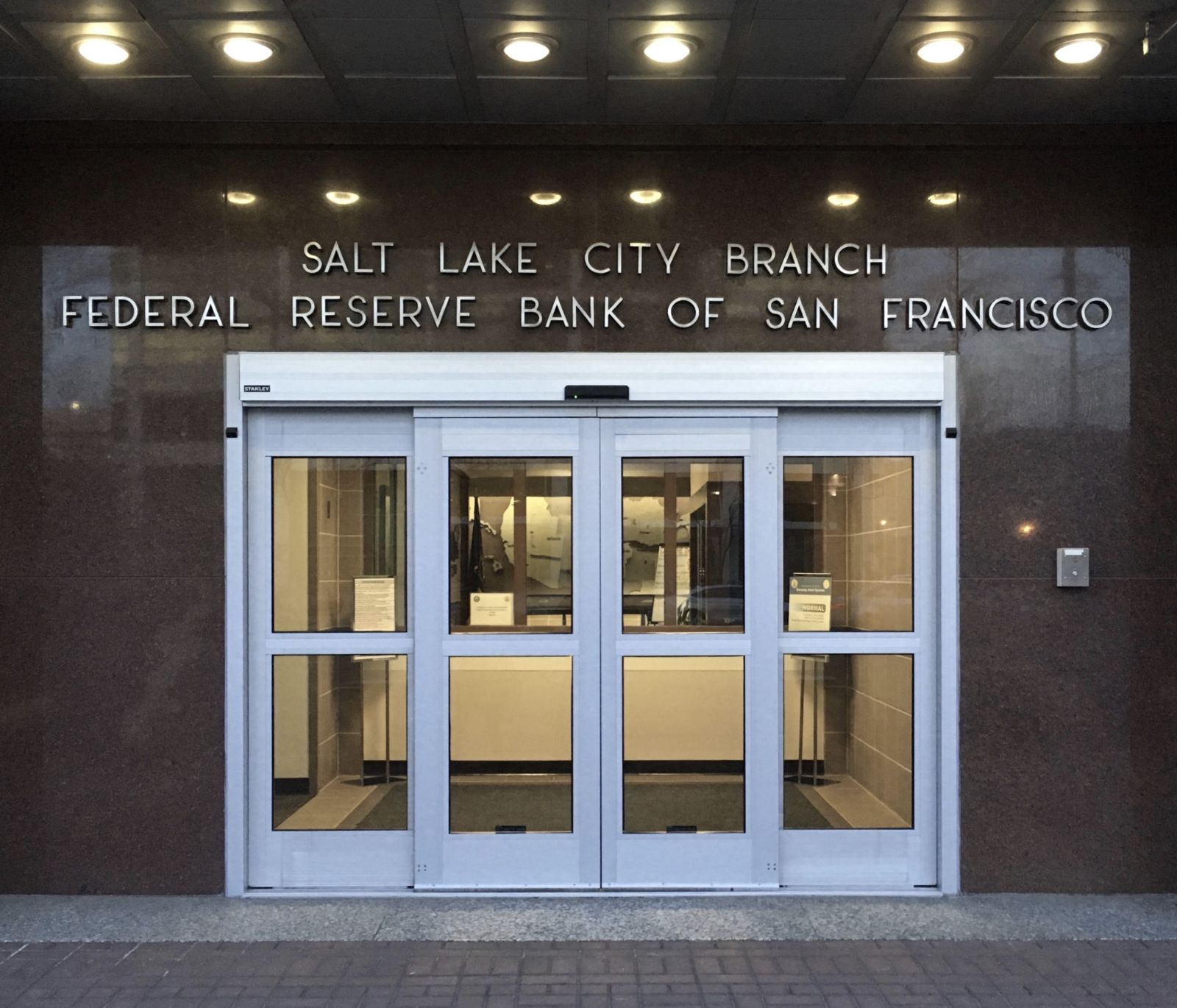 Salt Lake City Branch Federal Reserve Bank of San Francisco | Flickr - Photo Sharing!