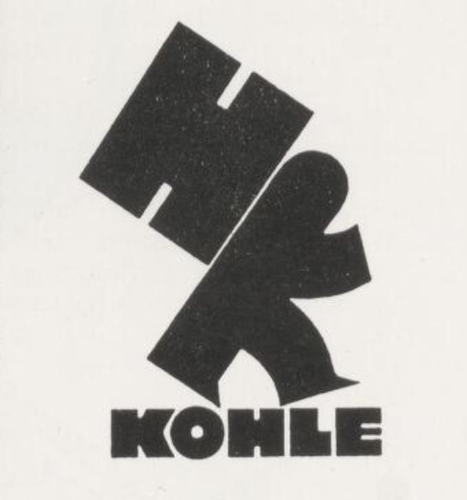 Kohle logo by Karl Schulpig