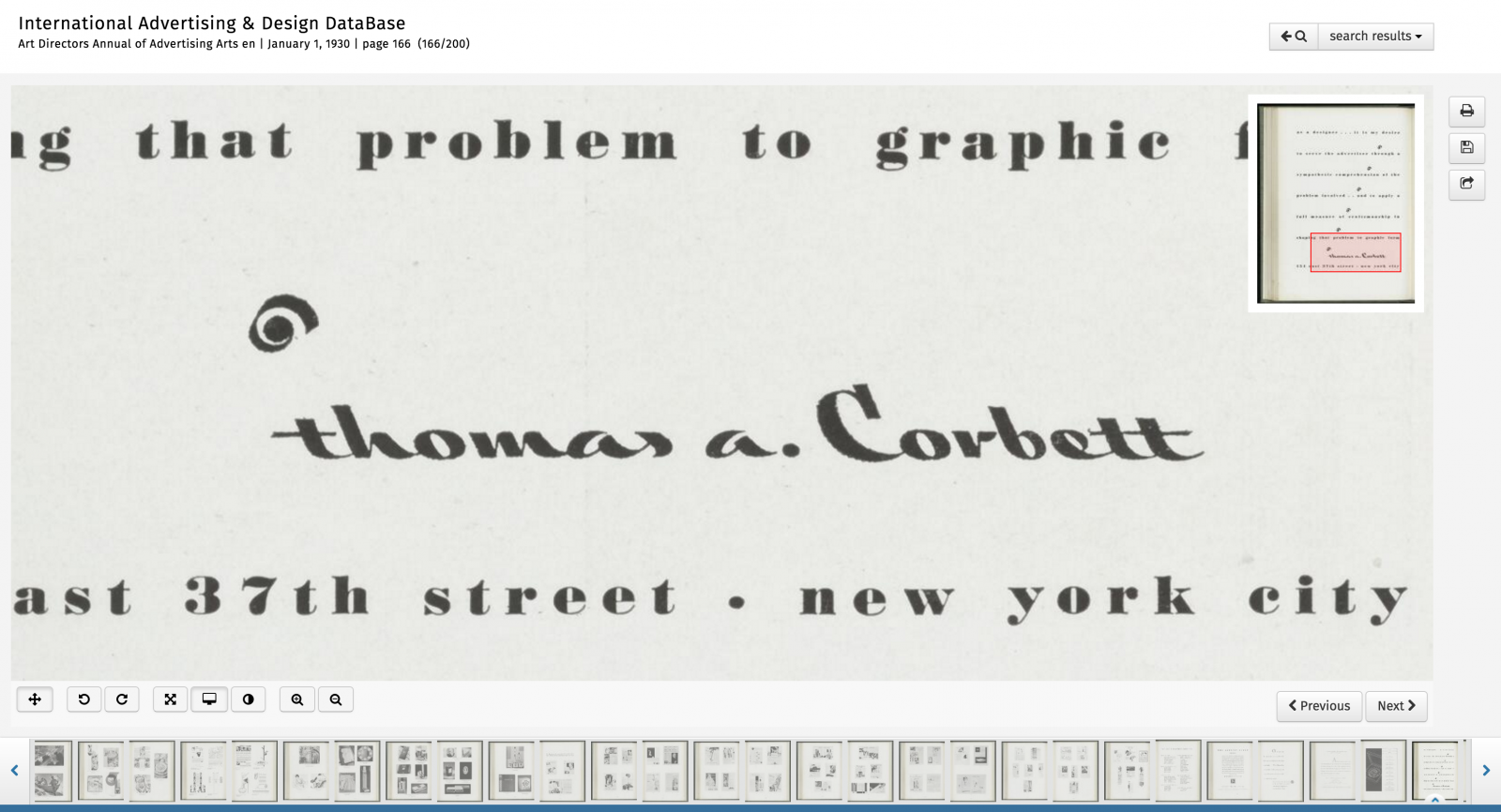 Thomas A. Corbett ad
