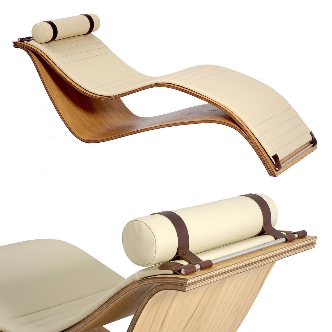 SU Chaise Lounge designed by Rafael Simoes Miranda