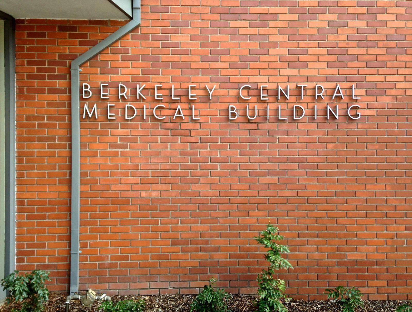 Berkeley Central Medical Building sign