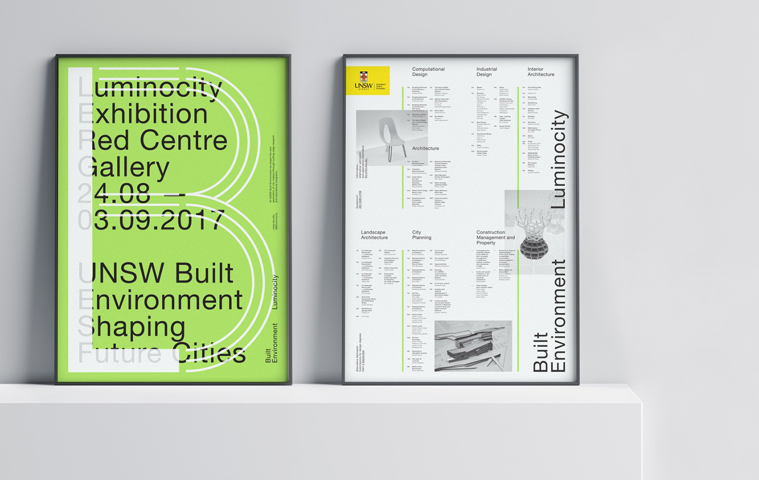 Graphic Identity for UNSW Built Environment
