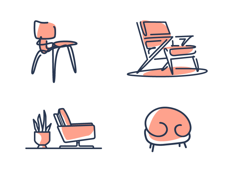Chairs on chairs on chairs