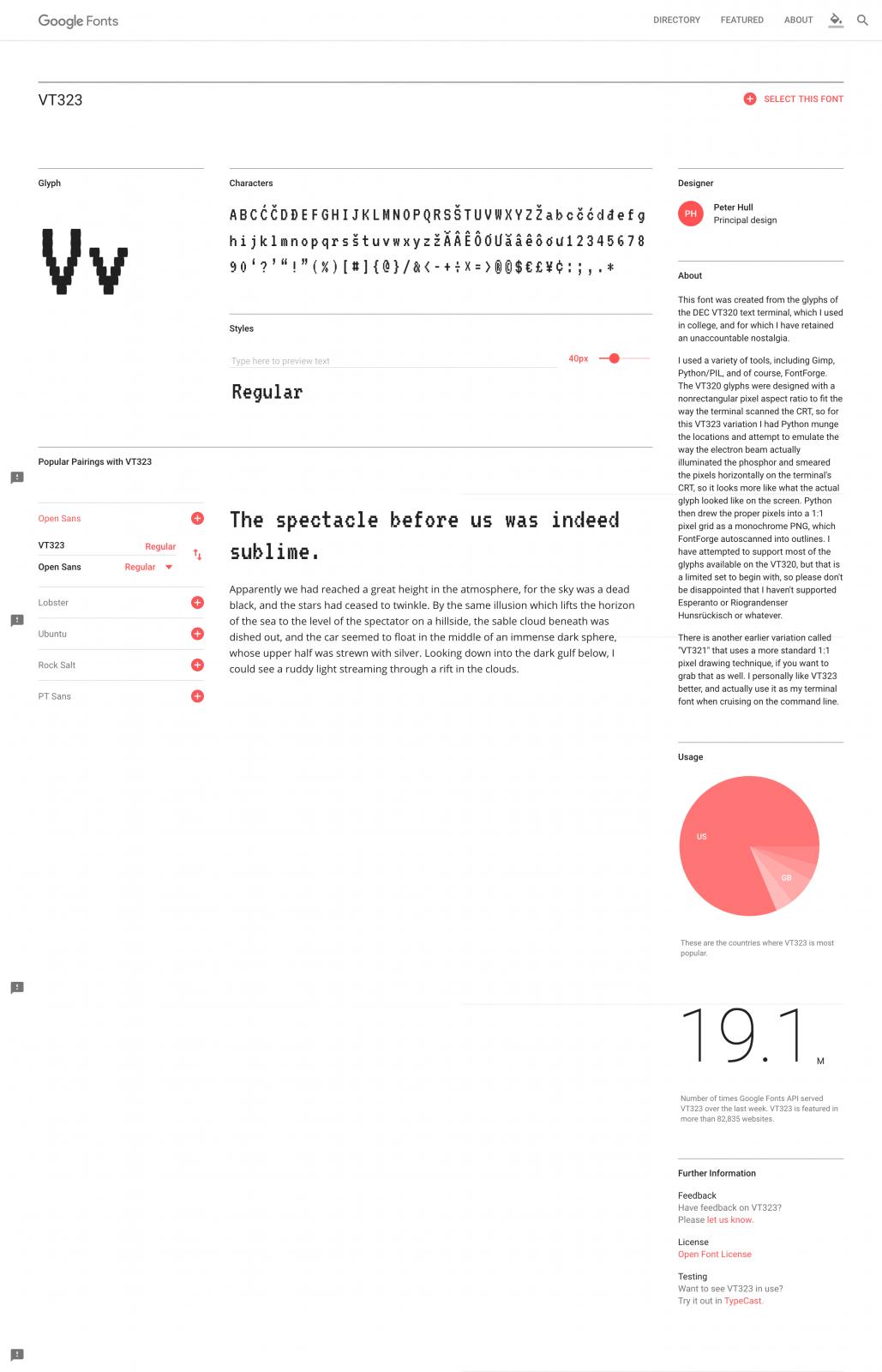 VT323 - Google Fonts