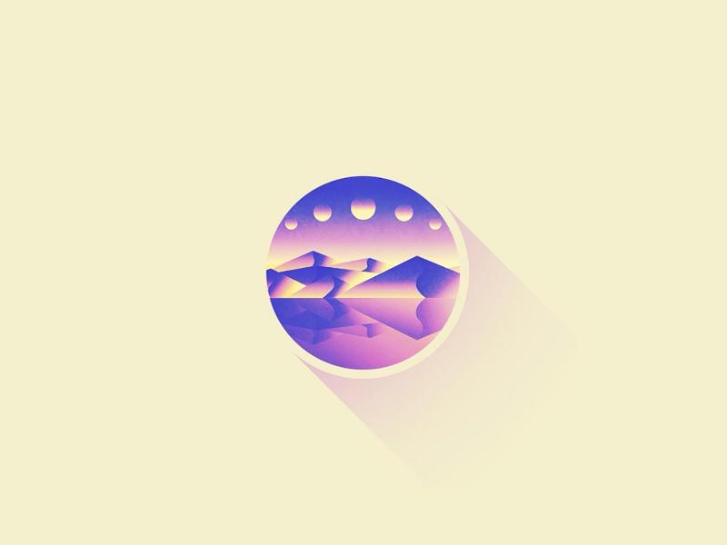 Moons by Michał Zagórski