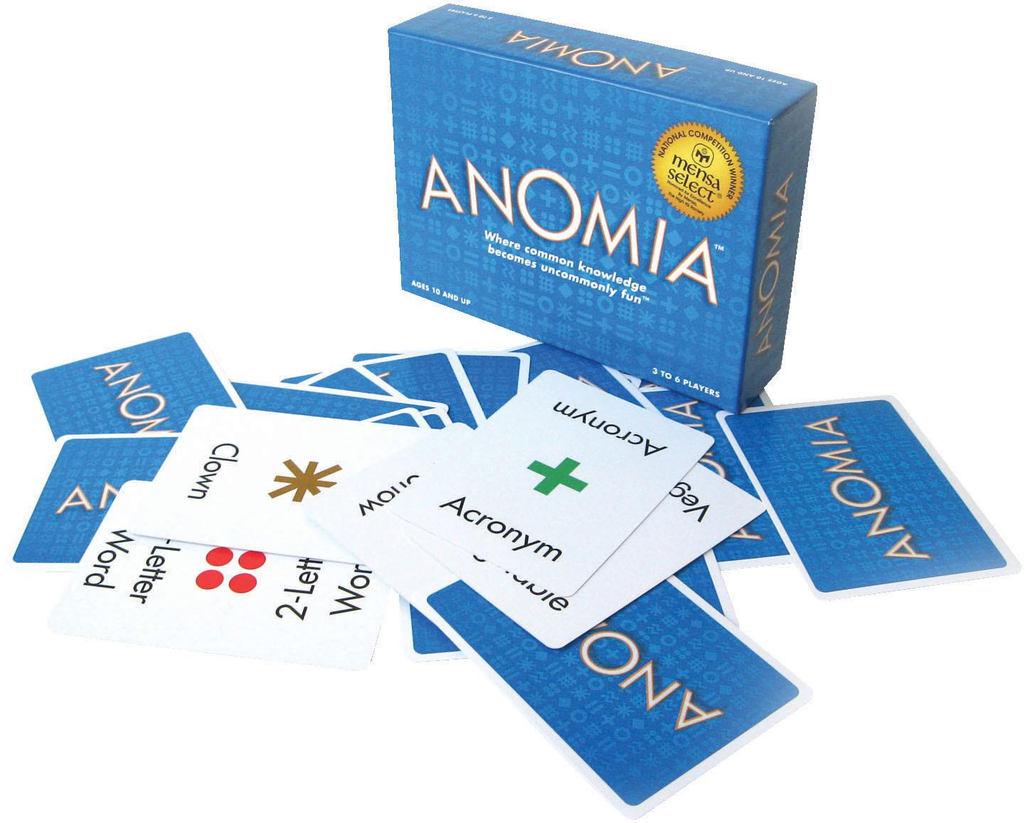 [30 mins] Anomia