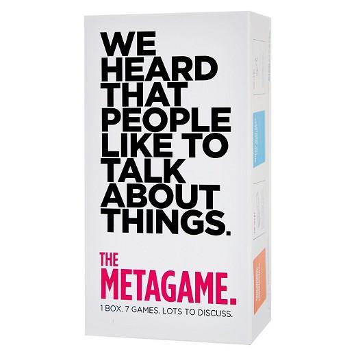 [15 mins] The Metagame