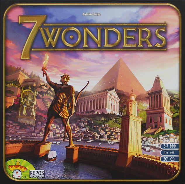 [30 mins] 7 Wonders