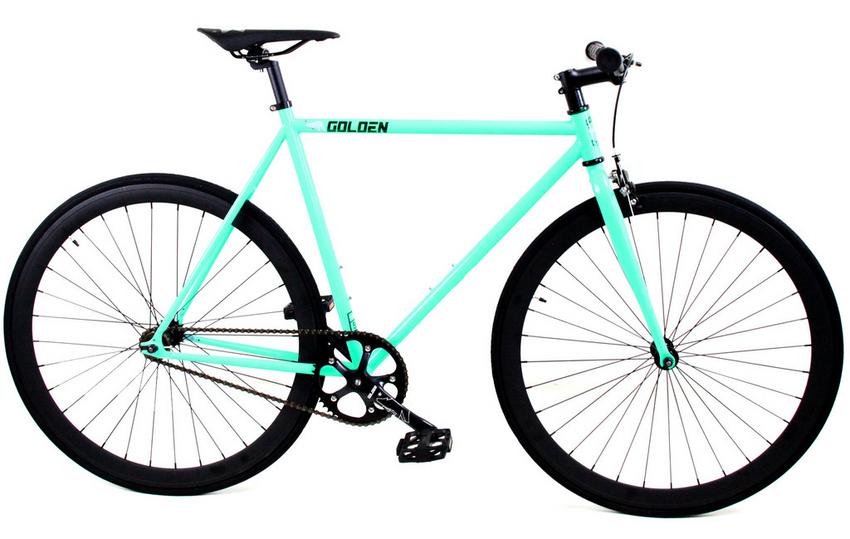 Golden Cycles Fixie Bike Item # 10TR-GC1001