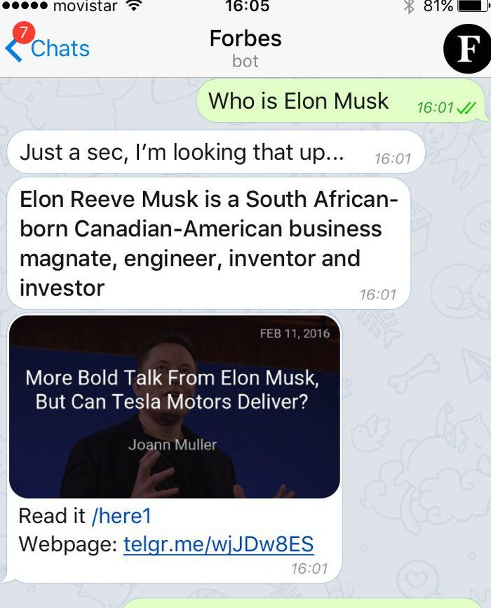 Forbes new app