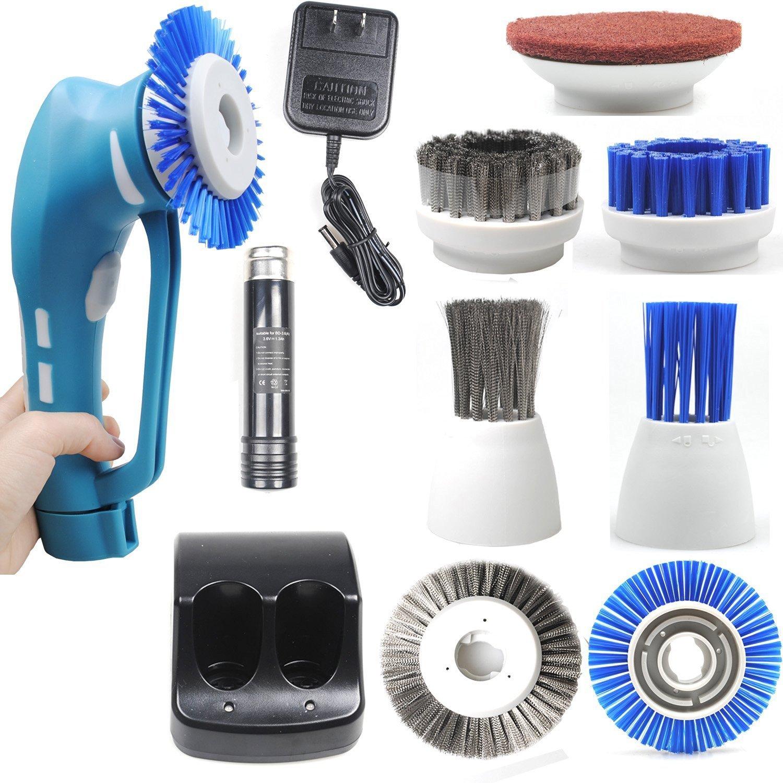 CUH cordless bathroom scrubber Review - Best Heavy Duty Stuff