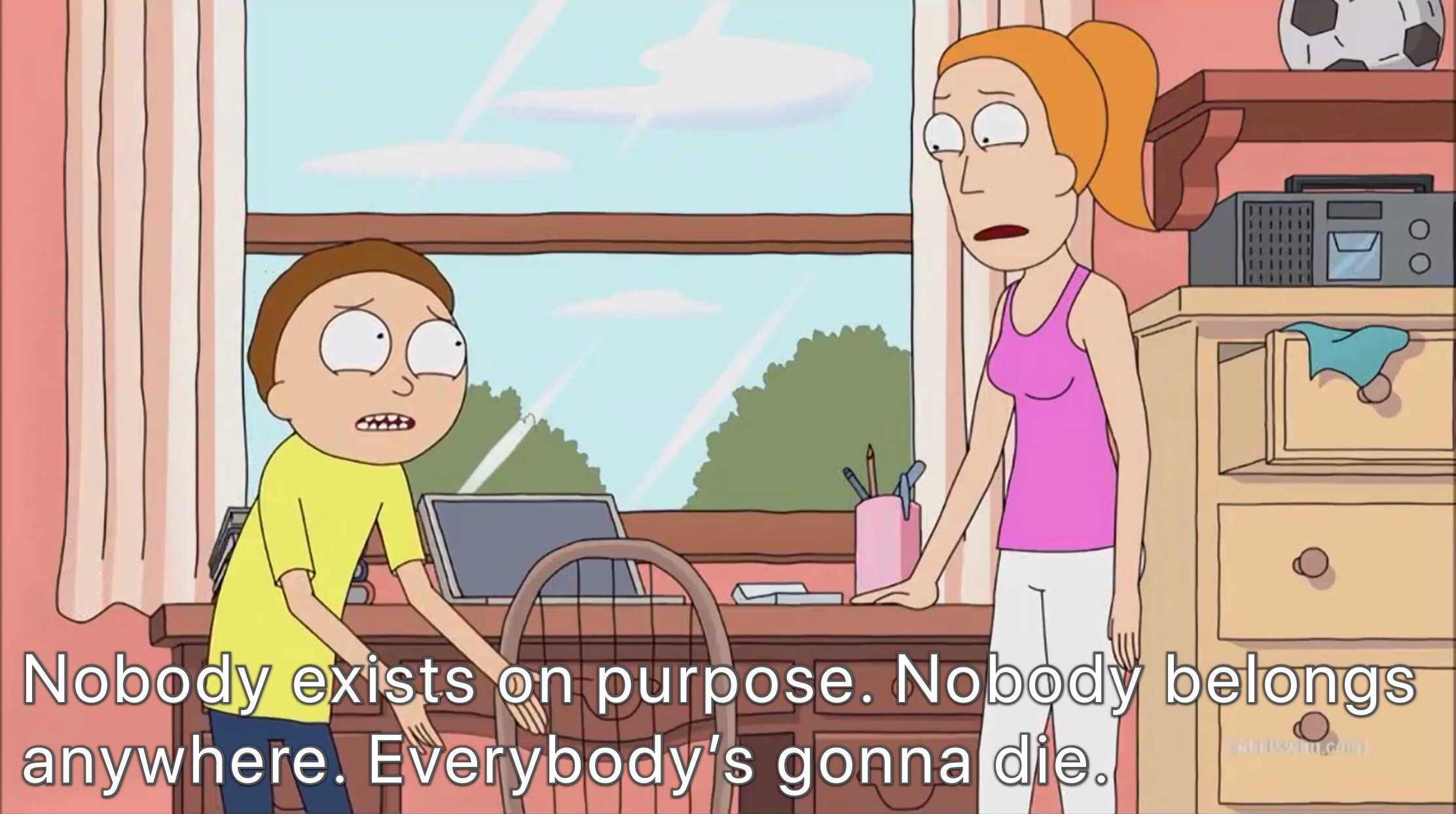 Rick and Morty existence memes