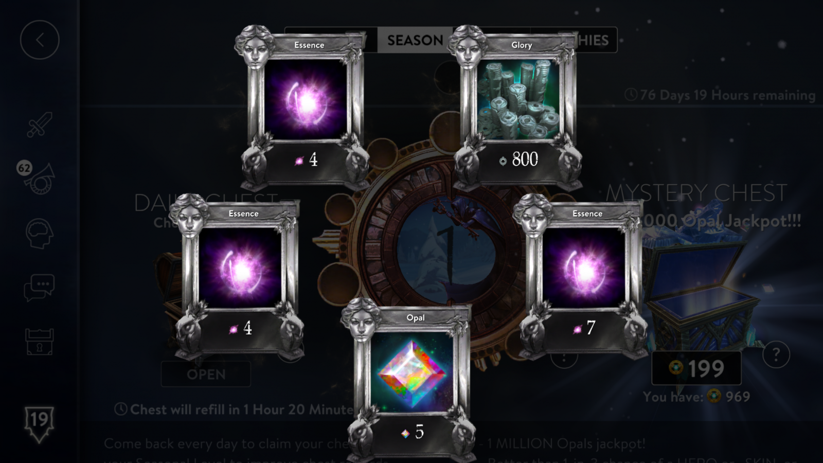 First 2.0 Mystery Chest roll 7