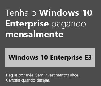 Windows 10 Enterprise E3